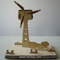 Solar DIY Toy Turbine EK-SDIY04-T